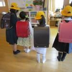 入学式後に卒園児が来園してくれました。