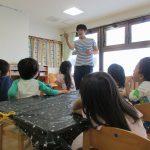にじいろ保育園金沢文庫 そら、たいよう組 造形教室
