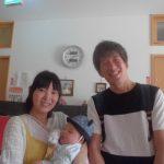 8月31日 角本先生(ご一家)ようこそ!