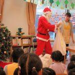 クリスマス会に参加しました。