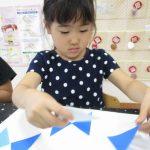 造形教室「三角をつかって」