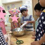 米粉ホットケーキ作り