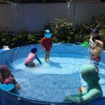 8月29日 プール遊びと水あそび