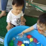 乳児(水遊び)・幼児(プール遊び)