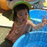 「水あそび楽しいね!」だいち組