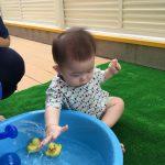 7月プール&水遊びが始まりました!