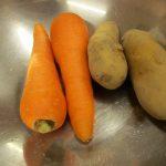 だいちさん 野菜洗い