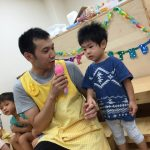 にじいろ保育園南水元 8月9月お誕生日会